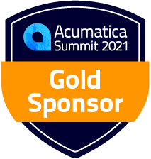 Acumatica Summit Gold Sponsor Shield